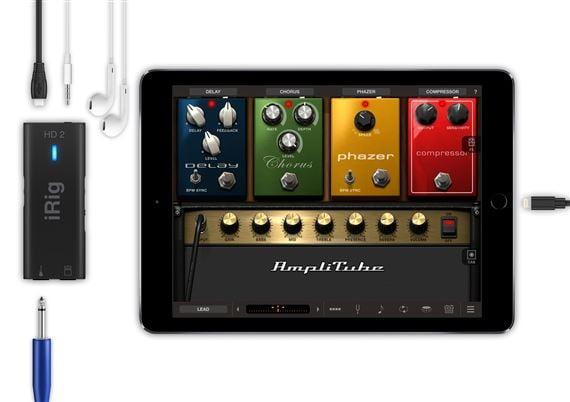 IK Multimedia iRig HD2 USB Audio Interface