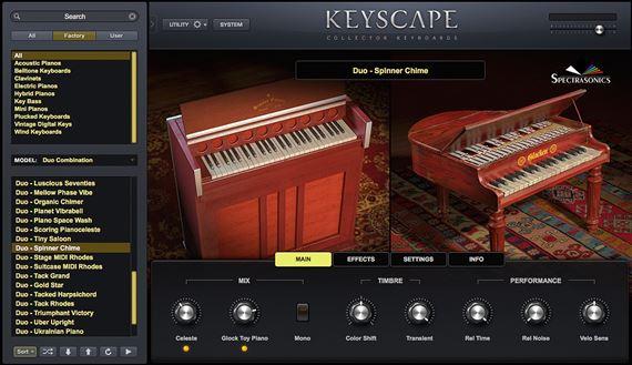 Spectrasonics Keyscape Keyboard Instrument Plugin