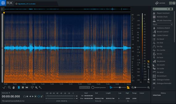 iZotope RX7 Advanced Audio Processing Restoration Software