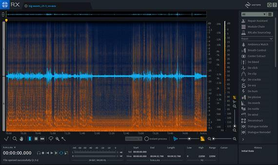 iZotope RX 7 Standard Audio Processing Restoration Software
