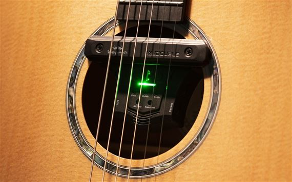 Kepma Acoustifex Go Acoustic Guitar Pickup Preamp And Effects System