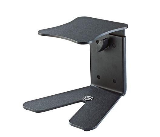 K Amp M 26772 Desktop Studio Monitor Stand Black