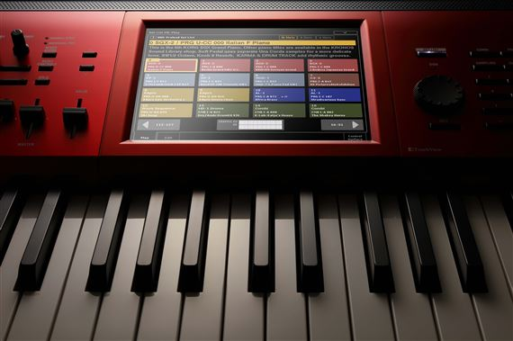 Korg Kronos 8 Special Edition Workstation with Italian Grand Library