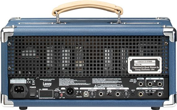 laney l5 studio guitar head and interface with load box. Black Bedroom Furniture Sets. Home Design Ideas