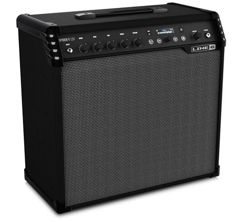 line 6 spider v120 electric guitar combo amplifier 1x12 120 watts. Black Bedroom Furniture Sets. Home Design Ideas