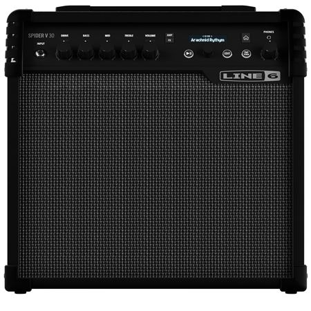 line 6 spider v30 electric guitar combo amplifier 1x8 30 watts. Black Bedroom Furniture Sets. Home Design Ideas