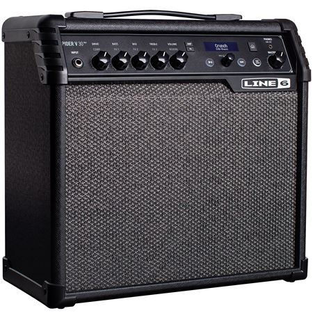 line 6 spider v30 mkii electric guitar combo amplifier 1x8 30 watts. Black Bedroom Furniture Sets. Home Design Ideas