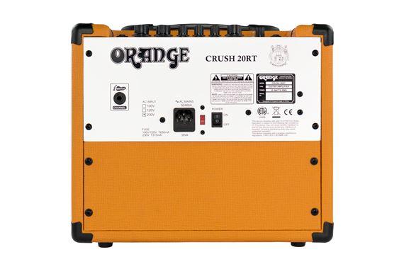 orange crush 20rt guitar combo amplifier with reverb. Black Bedroom Furniture Sets. Home Design Ideas