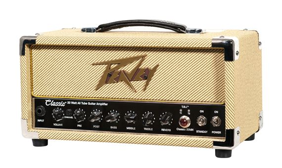 peavey classic 20 mh mini head guitar amplifier. Black Bedroom Furniture Sets. Home Design Ideas