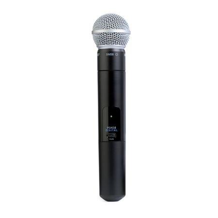 shure pgx digital handheld wireless mic system with sm58. Black Bedroom Furniture Sets. Home Design Ideas