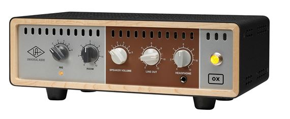 universal audio ox analog reactive load box for tube guitar amps. Black Bedroom Furniture Sets. Home Design Ideas