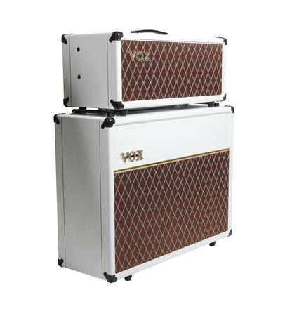 vox ac15 electric guitar amplifier head 15 watts limited white bronco. Black Bedroom Furniture Sets. Home Design Ideas