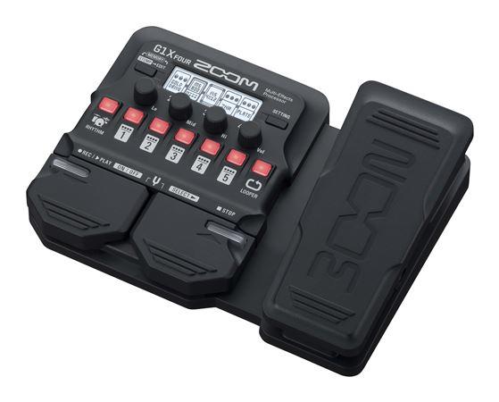 zoom g1x four multi effects guitar processor pedal. Black Bedroom Furniture Sets. Home Design Ideas