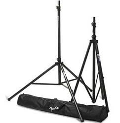 Fender ST275 Passport Tripod Speaker Stand Pair with Gig Bag