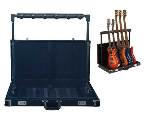 RockStand Hardshell Folding Multiple Guitar Stand