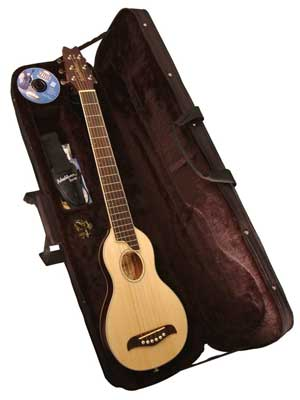 Washburn RO10 Rover Travel Acoustic Guitar Package