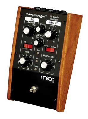 Moog Music MF103 Moogerfooger Twelve Stage Phaser Pedal