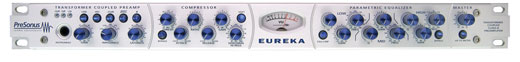 PreSonus Eureka Recording Channel Strip Mic Preamp