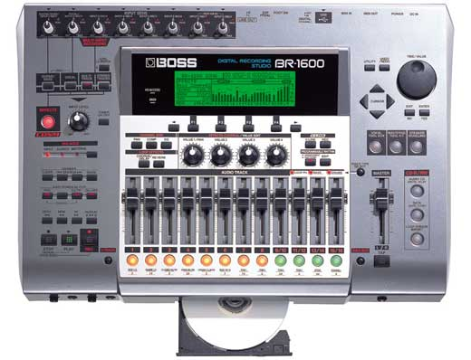 Boss BR1600CD Multitrack Digital Recorder