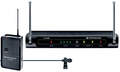 Sennheiser freePORT FP12 UHF Lapel Wireless Mic System