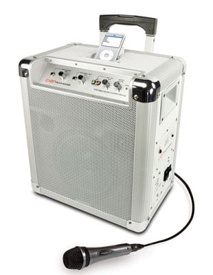 ION Audio iPA03 Block Rocker Portable PA System for iPod