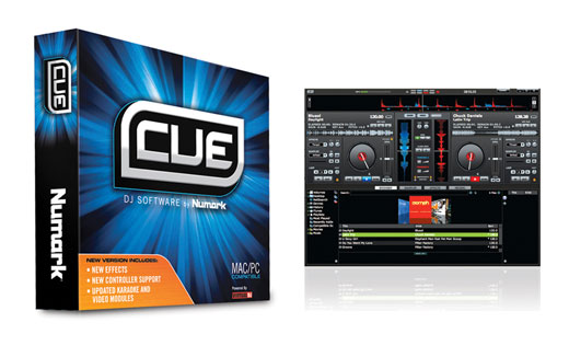 Numark Cue 7 Professional DJ Software