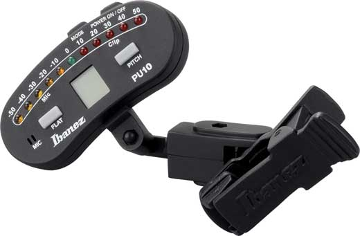 Ibanez PU10 Clip On Tuner