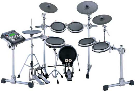 yamaha dtxtreme iii special electronic drum set. Black Bedroom Furniture Sets. Home Design Ideas