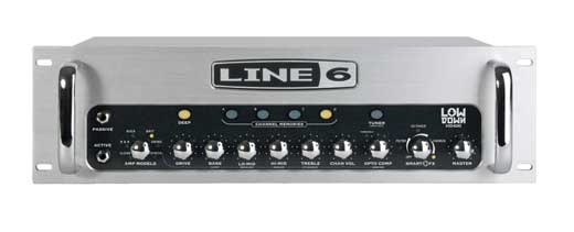 Line 6 HD400 LowDown Bass Guitar Amplifier Head