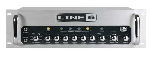 Line 6 HD750 LowDown Bass Guitar Amplifier Head