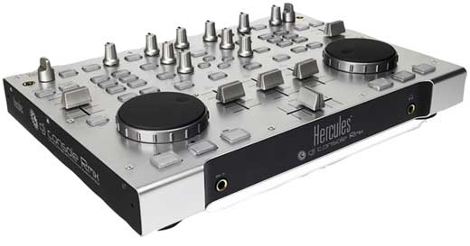 Hercules DJ Console RMX Pro Control Surface with Audio Interface