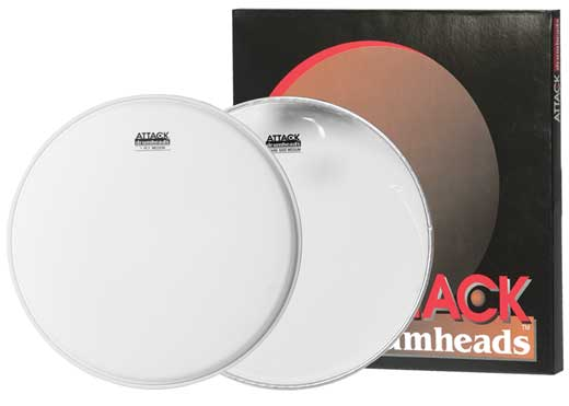 Attack Snare Pack Coated Snare Side Drum Head Package