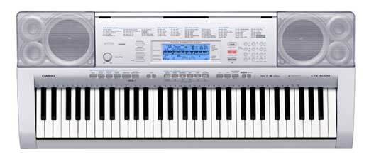 Casio CTK4000 61 Key Personal Keyboard