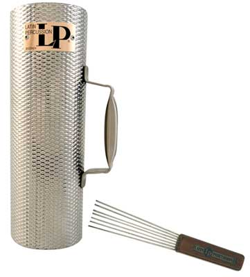 Latin Percussion Merengue Guiro with Scrapper