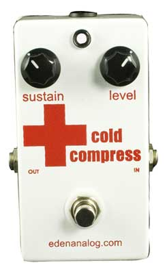 Eden Analog Cold Compress Compressor Pedal