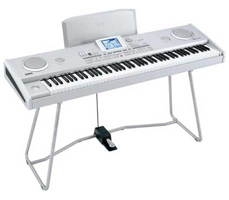 Korg PA588 88 Key Arranger Keyboard