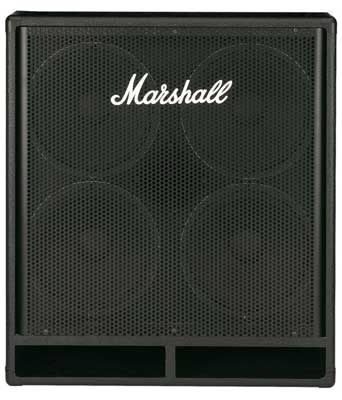 Marshall MBC410 Bass Guitar Amplifier Cabinet