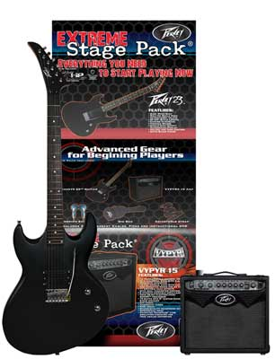 Peavey Vypyr Stage Pack Electric Guitar Package
