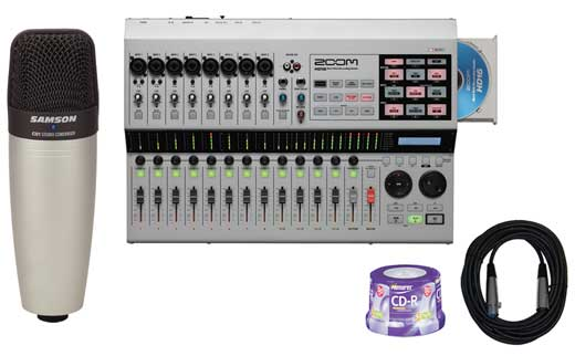 Zoom HD16CD Digital Multitrack Recorder
