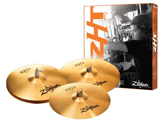 Zildjian ZHT 4 Rock Cymbal Package