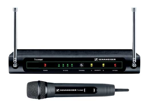 Sennheiser freePORT FP35 UHF Handheld Wireless Mic System