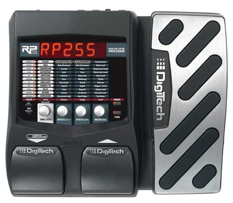 DigiTech RP255 Guitar Multieffects Pedal with USB