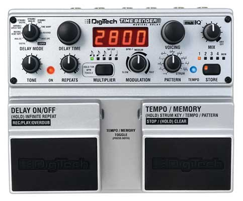 DigiTech Timebender Musical Delay Pedal