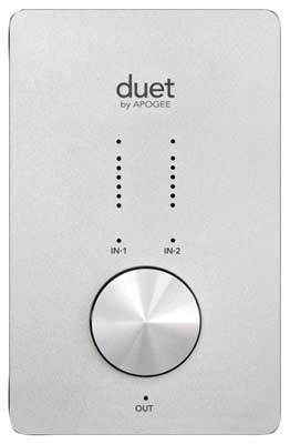 Apogee Duet FireWire Audio Interface