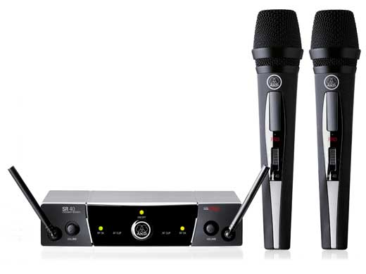 AKG WMS40 PRO Dual Vocal UHF Wireless System