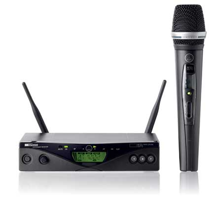 AKG WMS450 Vocal C5 UHF Handheld Wireless Microphone System