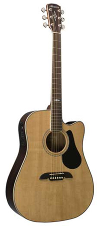 Alvarez AD411C Artist Acoustic Electric Guitar