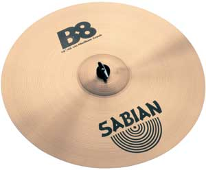 Sabian B8 Medium Crash Cymbal