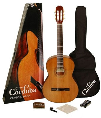 Cordoba CP110 Classical Acoustic Guitar Package