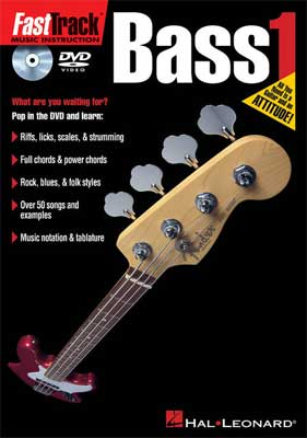 Hal Leonard FastTrack Bass Method 1 DVD Video